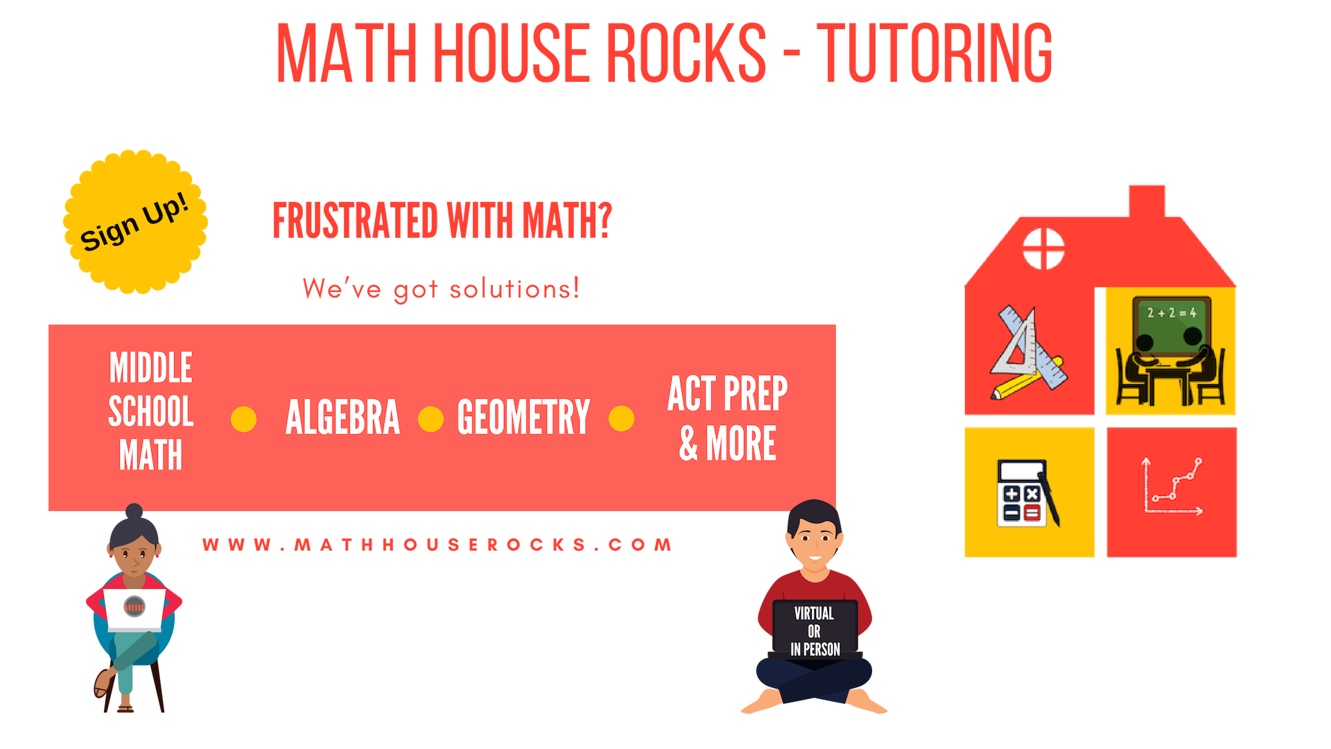 Math House Rocks - Tutoring - Log-in (Student Portal)